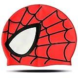 Gorras para Natación Infantil Modelo Spiderman