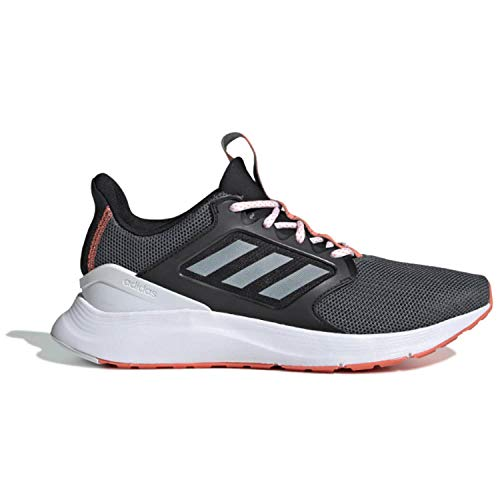 adidas Women's EnergyFalcon X Running Shoe, Black/White/Grey, 8.5 M US