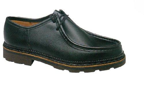 Zapato de seguridad bajo piel Vaccares Secur talla 41, color marrón