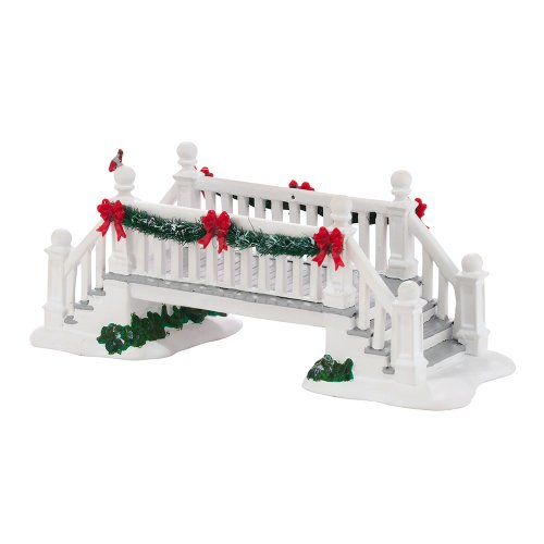 Department 56 Accessories for Villages Picket Lane Footbridge Accessory Figurine, 2.95 inch