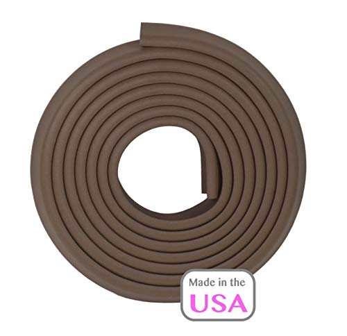 OOPSY Child Safety Edge Guard 12 Ft, Brown