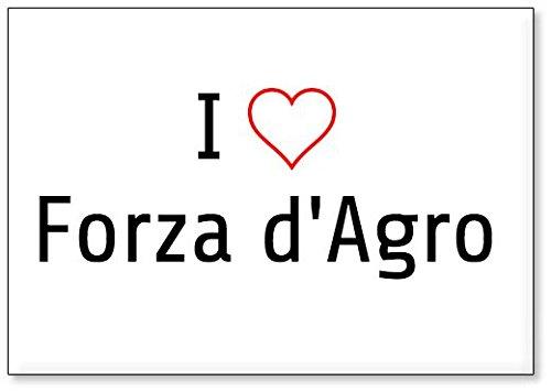 I Love Forza d'Agro, fridge magnet (design 1) for sale  Delivered anywhere in USA