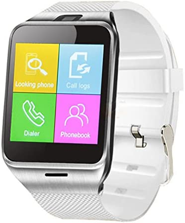 Padgene NFC Bluetooth Smart Watch for Android Smartphones Parent White 3
