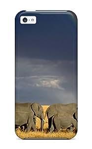 New Fashionable MaritzaKentDiaz IIueKdl5086IOTjk Cover Case Specially Made For Iphone 5c(elephant)