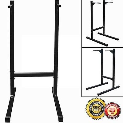 New Pull Push Up Stand Dipping Station Dip Bar Fitness Exercise Workout 500 LB by MTN Gearsmith
