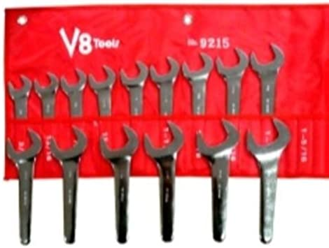 """NEW 15 PIECE SAE SERVICE WRENCH SET 3//4/""""-1-5//8/"""""""