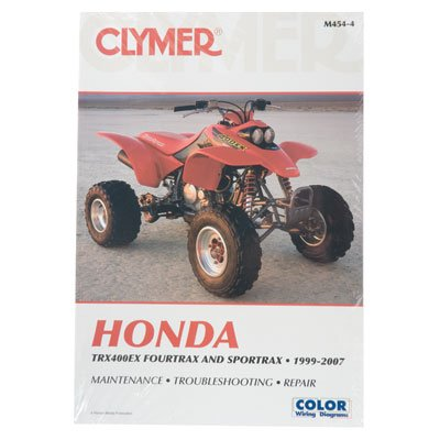 amazon com clymer repair manuals for honda trx 400ex 1999 2008 rh amazon com 2003 honda 400ex owners manual honda 400ex owners manual