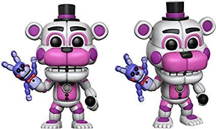 Five Nights at Freddy/'s Nightmare Funko Pop Sister location-FUNTIME Freddy a