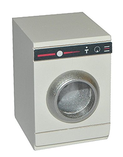 Miniatur Waschmaschine   Bad Maßstab 1:12   Holz   Für Badezimmer Zubehör  Nostalgie Puppenstube Mini Frontlader   Diorama Waschen Maschinen    Wäschetrockner ...