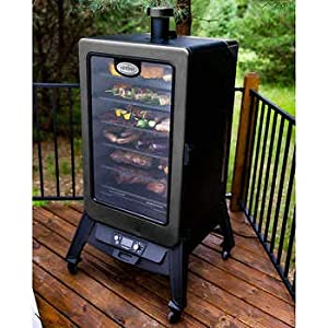Louisiana Grills Vertical Pellet Smoker made by  epic Louisiana