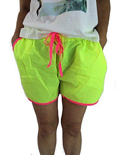 Miss Good - Shorts - para mujer amarillo