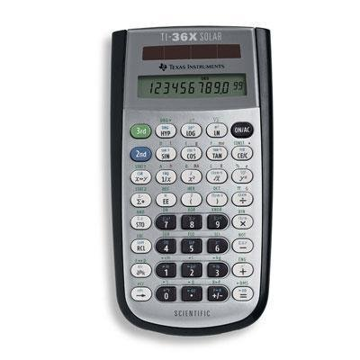 Ti 36X Scientific Calculator Prod. Type: Calculators/Scientific Calculators Texas Instruments ASC552197ADA01