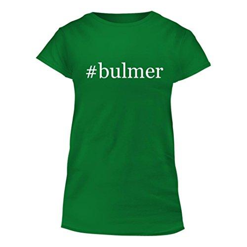 bulmer-junior-cut-hashtag-womens-t-shirt-green-xx-large