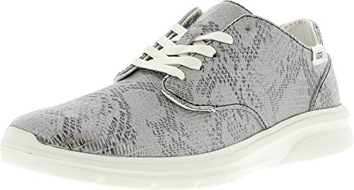 Vans Dames Iso Lage Top Vetersluiting In Mode Sneakers Blanc De Blanc