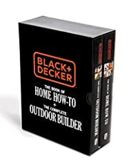 BLACK+DECKER has home improvement covered with the ultimate indoor/outdoor DIY book set. This handsome two-volume boxed set offers something truly amazing: a complete indoor/outdoor reference library for do-it-yourselfers in a single c...