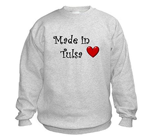 MADE IN TULSA - City-series - Light Grey Sweatshirt - size XXL