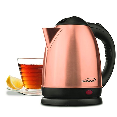 Brentwood Electric Cordless Kettle 50 oz-KT-1780, Stainless