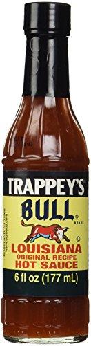 B&g Foods (B&G Foods Trappey's Bull Brand Louisiana Hot Sauce Glass Bottle, 6 oz)