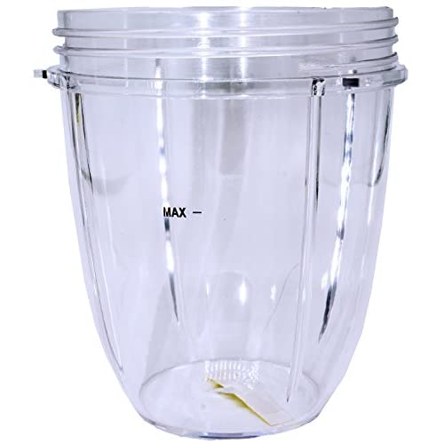 Compatible with Nutribullet 600W and 900W Blender Juicer Tall Jar Blendin Replacement Parts