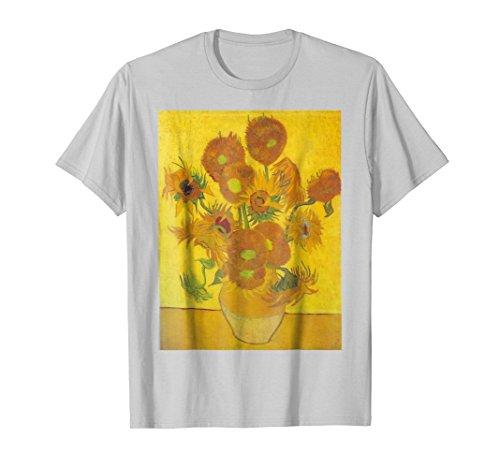 Sunflowers by Vincent Van Gogh T Shirt