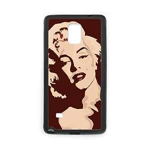 Custom Case Marilyn Monroe for Samsung Galaxy Note 4 N9100 L9Z3838007