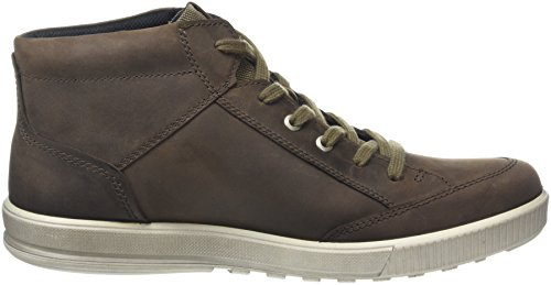 discount comfortable perfect sale online ECCO Men's Ennio Hi-Top Sneakers Brown (Coffee/Coffee51869) outlet best sale avxWh5