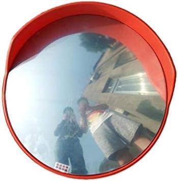 Geng カーブミラー 凸安全ミラー、80CM、多機能セキュリティ監視耐久性に優れた広角レンズ、交通事故防止