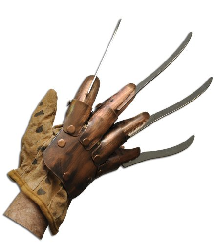 Rubie's Supreme Edition Metal Freddy Glove Costume Accessory, Multi, One -