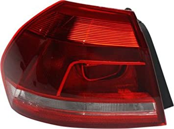 Multiple Manufacturers VW2804108V 2012+ Partslink VW2804108 OE Replacement Tail Light Assembly VOLKSWAGEN PASSAT 2012-2015