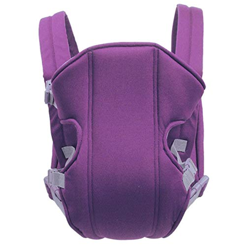Baby Carrier Backpack Soft Sling All Carry with Hip Seat 360 Positions Award-Winning Ergonomic Child and Newborn Seats (Color : Purple)