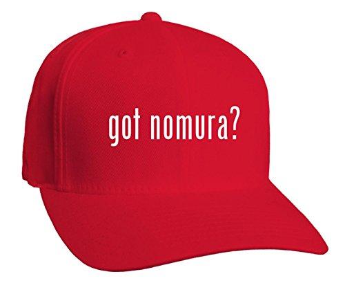 got-nomura-adult-baseball-hat-red-small-medium