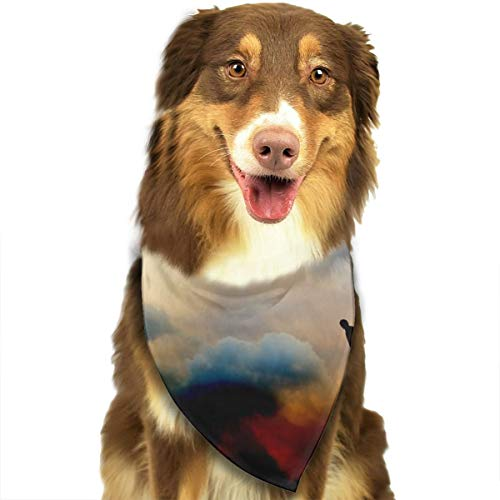 Pet Scarf Dog Bandana Bibs Triangle Head Scarfs Human Accessories for Cats Baby Puppy -