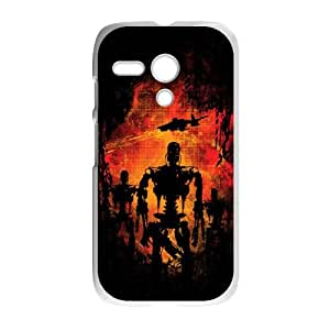 Motorola G Cell Phone Case White Final Judgement DCI Customized Back Case