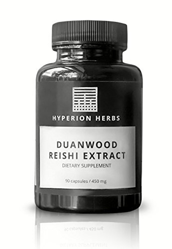 Cheap Reishi Mushroom Capsules Extract Duanwood – Hyperion Herbs – 90 Capsules – 10:1 Concentration!