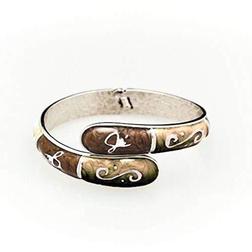 FUMI 3 in 1 Fashion Bangle Bracelet / Purse Bling / Purse Hook Accessory / Bag Hanger / Chocolate/Latte