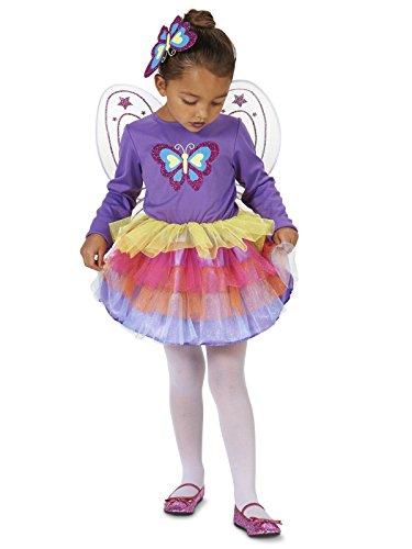 Purple Butterfly Costume Toddler (Neon Purple Butterfly Toddler Costume 2-4T)
