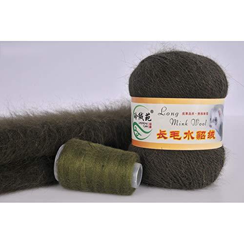 Crochet Tricotée wool Luxe À Vison L'automne En Main La The Cachemire Long 14 Doux Pour Laine Fil Lifet Et See De L'hiver 24 Convient Picture 8wOqtvx
