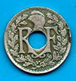 1921 FR French 10 Centimes 10c XF