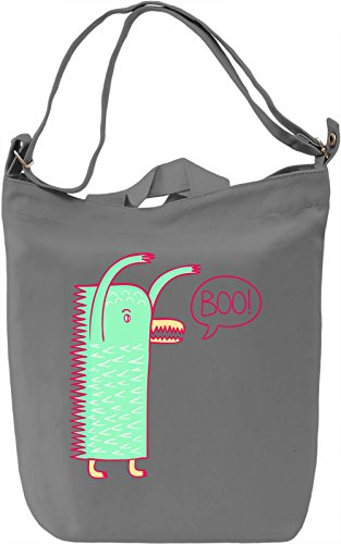 Lovely Monster Borsa Giornaliera Canvas Canvas Day Bag| 100% Premium Cotton Canvas| DTG Printing|