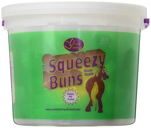 41kybiyyaZL - SQZY BUNS HORSE TREATS3# by SQUEEZY BUNS MfrPartNo UJSBL