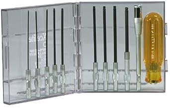 Xcelite 99PS40BP Ballpoint Allen Hex Screwdriver Set, 11-Piece