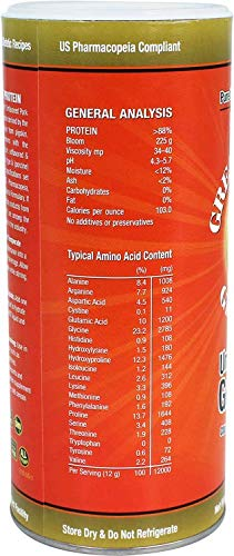 Great Lakes Gelatin Porcine Gelatin, Collagen Joint Care, Unflavored, 16 oz by Great Lakes (Image #3)