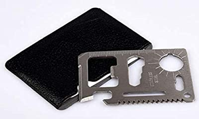 11 in 1 Pocket Survival Tool by STRITE - Credit Card Multitool by STRITE Industry
