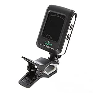 digital lcd clip on electronic acoustic guitar tuner toys games