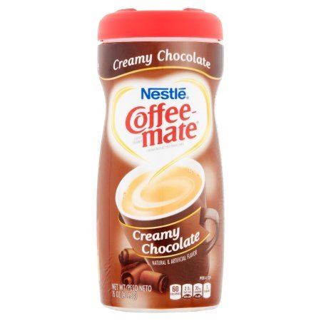 PACK OF 10 - COFFEE-MATE Creamy Chocolate Powder Coffee Creamer 15 oz. Canister by Coffee-mate (Image #6)