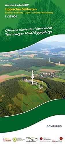 Wanderkarte NRW: Lippischer Südosten: Barntrup - Blomberg - Lügde - Schieder-Schwalenberg (Wanderkarten NRW) Landkarte – Folded Map, 14. Juni 2018 Lippischer Heimatbund Teutoburger-Wald-Verein e.V. Bonifatius 3897107872