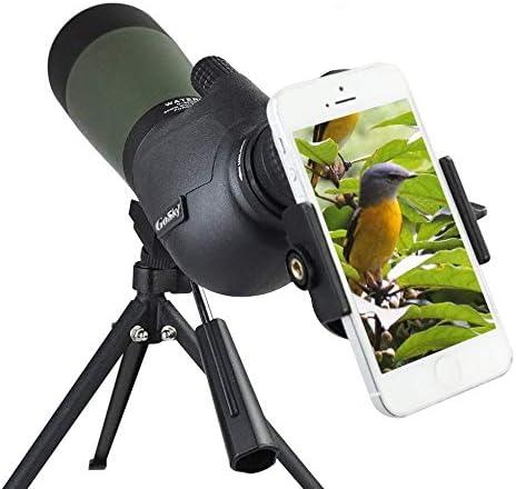 best spotting scopes for hunting: Gosky 20-60 X 80 Porro Prism Spotting Scope