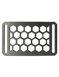 Grip6 Conservation Series Men's Belt Interchangeable Buckle 40mm (Honeycomb, Buckle Only) …