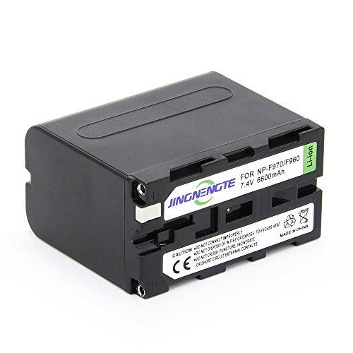 JINGNENGTE® High Quality Camcorder Batteries NP-F970 6600mA