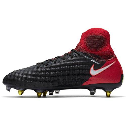 Nike Mens Magista Obra Ii Sg-pro Tilltäppning Motverkande Mjuk Mark Knap - (svart / Vit / Röd)